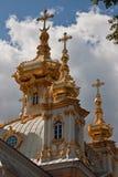 Church of the Grand Peterhof Palace in Peterhof Royalty Free Stock Photo