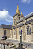 Church at Granville in France Stock Photography