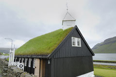 Church with Grass Roof Royalty Free Stock Photo