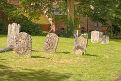 Church grave yard. Image taken of an old church grave yard in hatfield, england,uk stock image