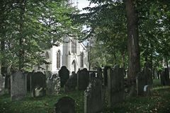 Church and Graveyard Stock Photography