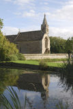Church at Great Chalfield. Wiltshire.UK Stock Images