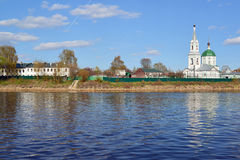 Church of Great Martyr Catherine of St. Catherine& x27;s Convent in Tver, Russia Stock Photography