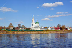 Church of Great Martyr Catherine of St. Catherine& x27;s Convent in Tver, Russia Royalty Free Stock Photo