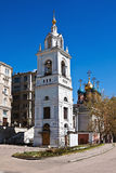 Church of the Great Martyr George the Victorious on Pskov Hill i Stock Photography