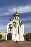 Church of the great martyr Georges the Victorious. Ivanovo. Russia Stock Photos