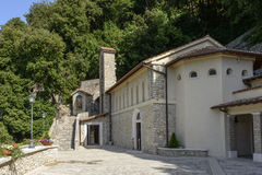 Church of Greccio Franciscan monastery, Rieti Stock Image