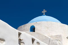 Church in Greece Royalty Free Stock Photos