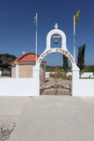 Church in Greece, Rhodes island Royalty Free Stock Photography
