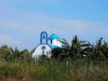 church greek royaltyfri fotografi