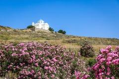 church greek Royaltyfri Bild