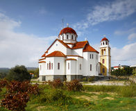 Church on Greek Island Stock Photo