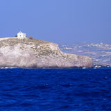 Church on Greek island Royalty Free Stock Photography