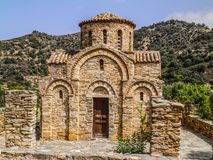 Church Greek orthodox. In Crete island Royalty Free Stock Photos