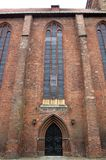 Church In Greifswald Stock Photography
