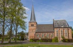 Church of Groesbeek stock images