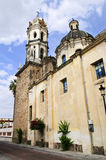 Church in Guadalajara Jalisco, Mexico. The Sanctuary of Our Lady of Solitude, Guadalajara, Jalisco, Mexico royalty free stock photography