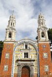 Church of guadalupe I, puebla Royalty Free Stock Photo