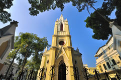 Church in Guangzhou,China. Many Western building is located in Guangzhou China royalty free stock photo