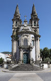 Church in Guimaraes, Portugal Stock Photos