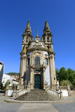 Church at Guimarães, Portugal Stock Images