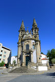 Church at Guimarães, Portugal Stock Image