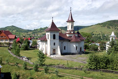 Church, Gura Humorului, Romania. Eastern Europe Stock Images