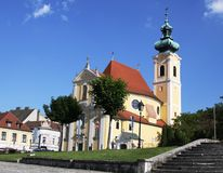 Church in Gyor, Hungay Royalty Free Stock Image