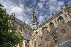 Church of Haarlem, Holland Stock Photography