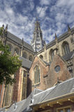 Church of Haarlem, Holland Stock Images