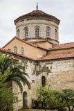 The Church of Hagia Sophia in Trabzon, Turkey. TRABZON, TURKEY - AUGUST 12, 2013: The church of Hagia Sophia in Trabzon, Turkey Stock Images