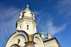 Church in Hakodate,Hokkaido,Japan. Royalty Free Stock Photo