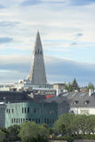 Church Hallgrimskirkja Reykjavik Stock Photography