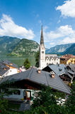 Church of Hallstatt Stock Images