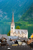 Church of Hallstatt Royalty Free Stock Photos