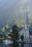 Church of Hallstatt Stock Photography