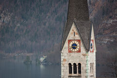 Church of Hallstatt, Salzburger Land, Austria Royalty Free Stock Image