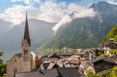 Church in Hallstatt Royalty Free Stock Photos