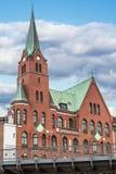 Church in Hamburg Royalty Free Stock Images