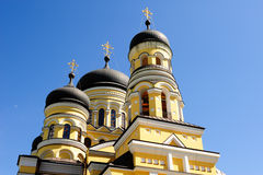 Church in the Hancu Monastery, Moldova Stock Photography