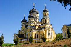 Church in the Hancu Monastery, Moldova Royalty Free Stock Images