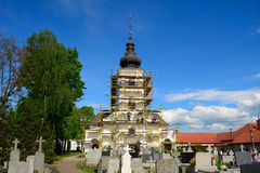 Church, Haniska, Slovakia Stock Photography