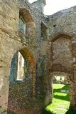 Ruins Church St Andrew, Walberswick UK, Royalty Free Stock Photography