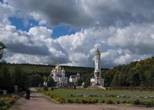 Church, heaven, Ukraine, Zarvanytsia. Church heaven Ukraine Zarvanytsia travel Stock Images