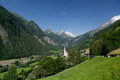 Church of Heiligenblut; Austria Stock Photo
