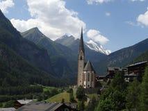 Church in the Heiligenblut, Austria Stock Photo