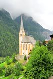 Church of Heiligenblut near the Grossglockner High Alpine Road Royalty Free Stock Photography