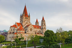 Church Heiliger Franz of Assisi at Mexikoplatz Royalty Free Stock Photo