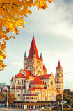 Church Heiliger Franz of Assisi in Vienna Royalty Free Stock Photography