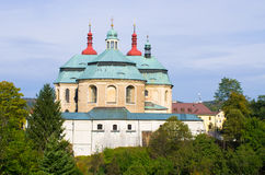 Church in Hejnice, Czech Republic Stock Images